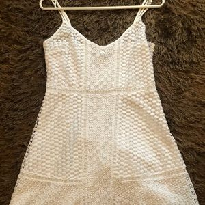 Abercrombie Fitch white dress Small